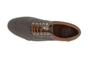 Mustang Shoes Halbschuhe in Übergrößen Grau 4072-312-20 große Herrenschuhe – Bild 7