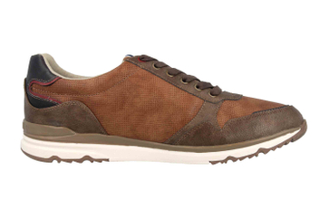 Mustang Shoes Halbschuhe in Übergrößen Braun 4095-316-396 große Herrenschuhe – Bild 4