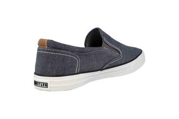 Mustang Shoes Slipper in Übergrößen Blau 4127-402-800 große Herrenschuhe – Bild 3