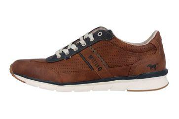 Mustang Shoes Halbschuhe in Übergrößen Braun 4137-301-301 große Herrenschuhe – Bild 1