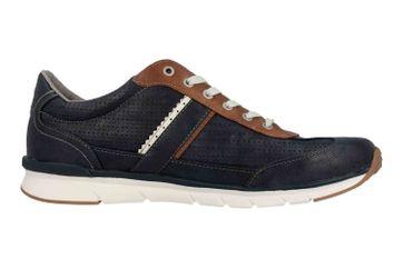 Mustang Shoes Halbschuhe in Übergrößen Blau 4137-301-820 große Herrenschuhe – Bild 4