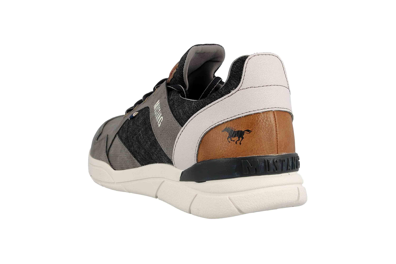 Mustang Shoes Halbschuhe in Übergrößen Grau 4138-301-2 große Herrenschuhe – Bild 2