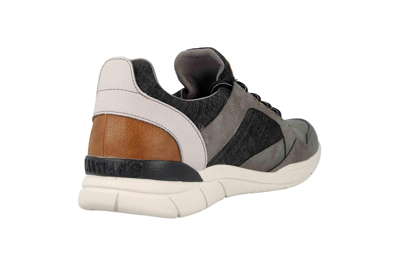 Mustang Shoes Halbschuhe in Übergrößen Grau 4138-301-2 große Herrenschuhe – Bild 3