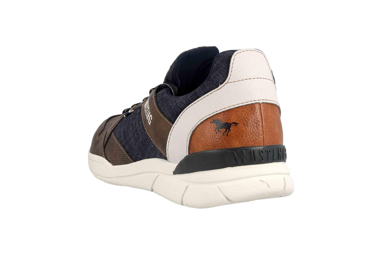 Mustang Shoes Halbschuhe in Übergrößen Braun 4138-301-32 große Herrenschuhe – Bild 2