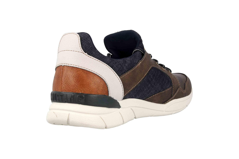 Mustang Shoes Halbschuhe in Übergrößen Braun 4138-301-32 große Herrenschuhe – Bild 3