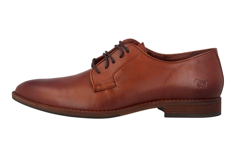 Mustang Shoes Halbschuhe in Übergrößen Braun 4904-302-301 große Herrenschuhe – Bild 1