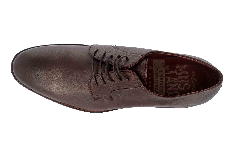 Mustang Shoes Halbschuhe in Übergrößen Braun 4904-302-32 große Herrenschuhe – Bild 7