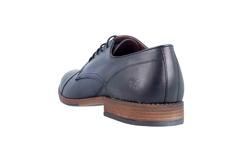 Mustang Shoes Halbschuhe in Übergrößen Blau 4904-304-820 große Herrenschuhe – Bild 2