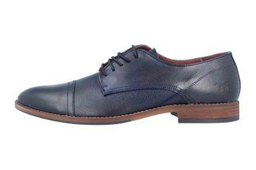 Mustang Shoes Halbschuhe in Übergrößen Blau 4904-304-820 große Herrenschuhe – Bild 1