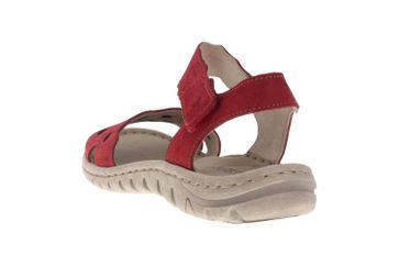 Josef Seibel Lucia 07 Sandalen in Übergrößen Rot 63807 869 400 große Damenschuhe – Bild 2