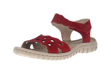 Josef Seibel Lucia 07 Sandalen in Übergrößen Rot 63807 869 400 große Damenschuhe – Bild 6
