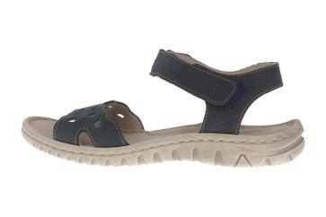 Josef Seibel Lucia 07 Sandalen in Übergrößen Blau 63807 869 500 große Damenschuhe – Bild 1