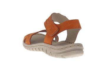 Josef Seibel Lucia 07 Sandalen in Übergrößen Orange 63807 869 840 große Damenschuhe – Bild 2