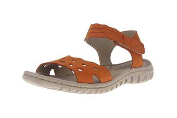 Josef Seibel Lucia 07 Sandalen in Übergrößen Orange 63807 869 840 große Damenschuhe – Bild 6