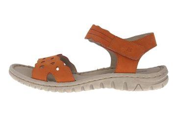 Josef Seibel Lucia 07 Sandalen in Übergrößen Orange 63807 869 840 große Damenschuhe – Bild 1