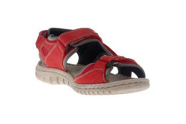 Josef Seibel Lucia 17 Sandalen in Übergrößen Rot 63817 904 471 große Damenschuhe – Bild 5