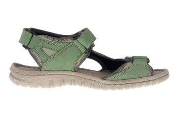 Josef Seibel Lucia 17 Sandalen in Übergrößen Grün 63817 904 601 große Damenschuhe – Bild 4