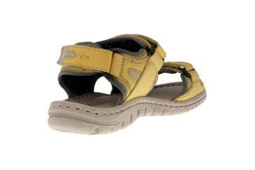 Josef Seibel Lucia 17 Sandalen in Übergrößen Gelb 63817 904 801 große Damenschuhe – Bild 3
