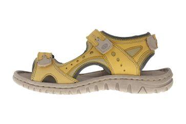 Josef Seibel Lucia 17 Sandalen in Übergrößen Gelb 63817 904 801 große Damenschuhe – Bild 1