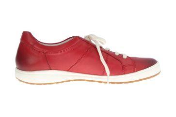 Josef Seibel Caren 01 Sneaker in Übergrößen Rot 67701 133 400 große Damenschuhe – Bild 4