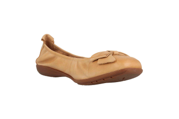 Josef Seibel Fenja 02 Ballerina in Übergrößen Beige 74802 133 220 große Damenschuhe – Bild 5