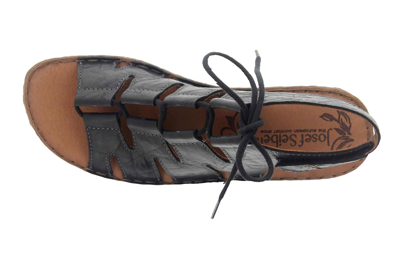 Josef Seibel Rosalie 39 Sandalen in Übergrößen Schwarz 79539 95 100 große Damenschuhe – Bild 7