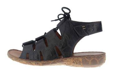 Josef Seibel Rosalie 39 Sandalen in Übergrößen Schwarz 79539 95 100 große Damenschuhe – Bild 1