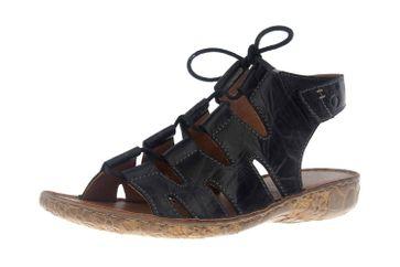 Josef Seibel Rosalie 39 Sandalen in Übergrößen Schwarz 79539 95 100 große Damenschuhe – Bild 6