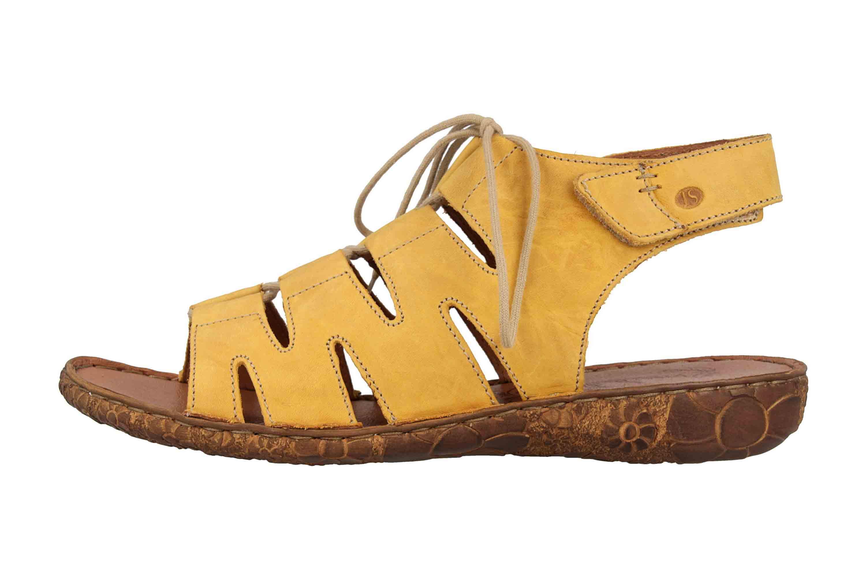 Josef Seibel Rosalie 39 Sandalen in Übergrößen Gelb 79539 95 800 große Damenschuhe – Bild 1