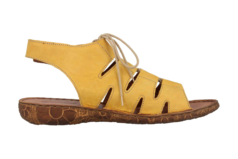 Josef Seibel Rosalie 39 Sandalen in Übergrößen Gelb 79539 95 800 große Damenschuhe – Bild 4