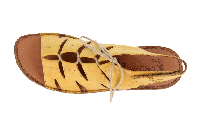 Josef Seibel Rosalie 39 Sandalen in Übergrößen Gelb 79539 95 800 große Damenschuhe – Bild 7