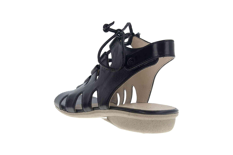Josef Seibel Fabia 13 Sandalen in Übergrößen Schwarz 87513 971 100 große Damenschuhe – Bild 2