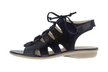 Josef Seibel Fabia 13 Sandalen in Übergrößen Schwarz 87513 971 100 große Damenschuhe – Bild 1