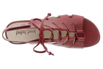 Josef Seibel Fabia 13 Sandalen in Übergrößen Rot 87513 971 396 große Damenschuhe – Bild 7