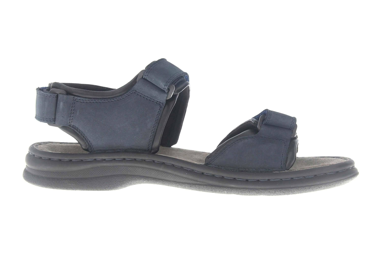 Josef Seibel Rafe Sandalen in Übergrößen Blau 10104 11 582 große Herrenschuhe – Bild 4