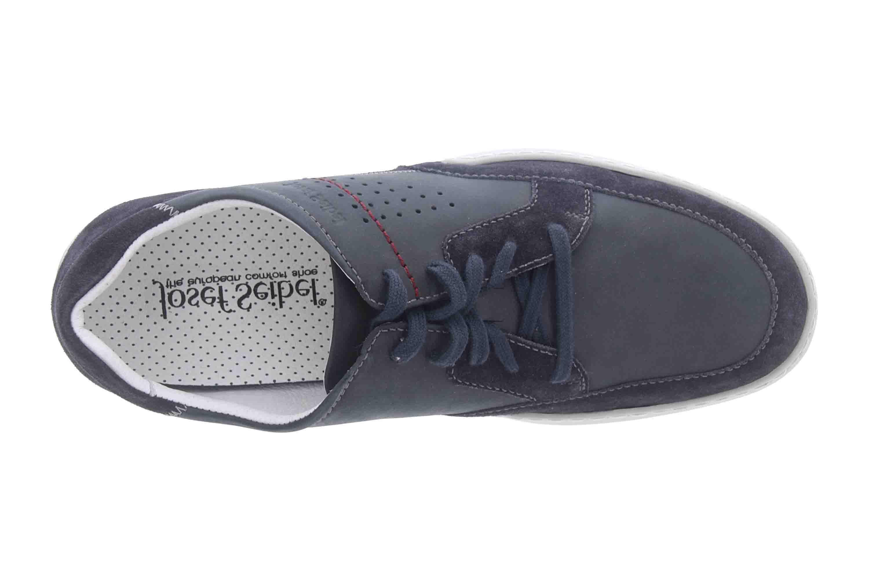 Josef Seibel Fernando 01 Sneaker in Übergrößen Blau 16901 143 505 große Herrenschuhe – Bild 7