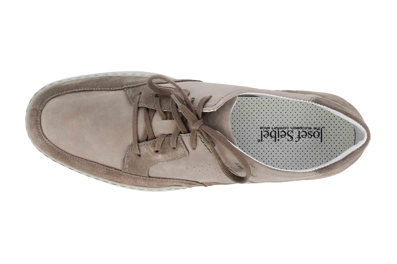Josef Seibel Fernando 01 Sneaker in Übergrößen Grau 16901 143 710 große Herrenschuhe – Bild 7
