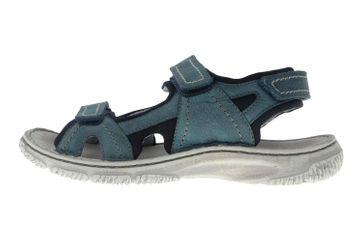 Josef Seibel Carlo 03 Sandalen in Übergrößen Blau 27603 TE796 591 große Herrenschuhe – Bild 1