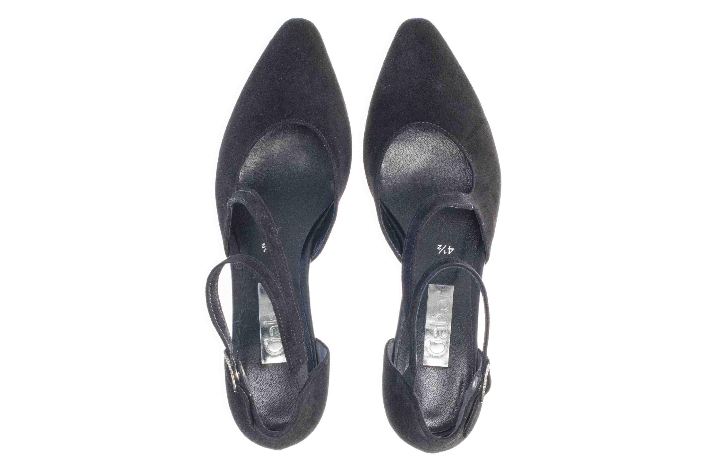 Gabor Fashion Pumps in Übergrößen Schwarz 21.361.17 große Damenschuhe – Bild 7