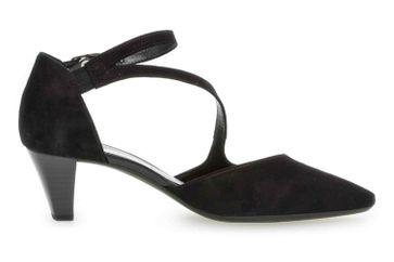Gabor Fashion Pumps in Übergrößen Schwarz 21.361.17 große Damenschuhe – Bild 4