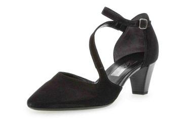 Gabor Fashion Pumps in Übergrößen Schwarz 21.361.17 große Damenschuhe – Bild 6