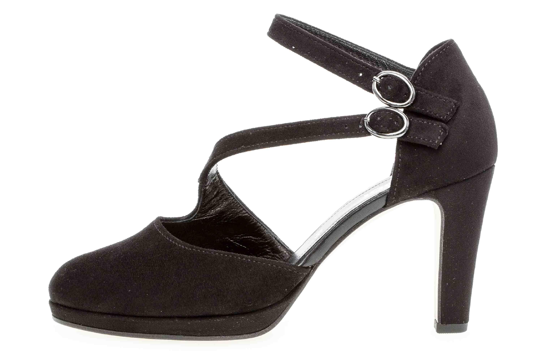 Gabor Fashion Pumps in Übergrößen Schwarz 21.370.47 große Damenschuhe – Bild 1