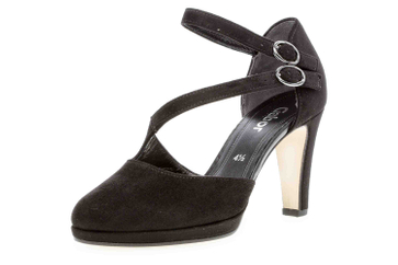 Gabor Fashion Pumps in Übergrößen Schwarz 21.370.47 große Damenschuhe – Bild 6