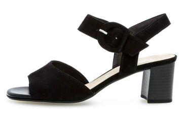 Gabor Fashion Sandaletten in Übergrößen Schwarz 21.752.17 große Damenschuhe – Bild 1