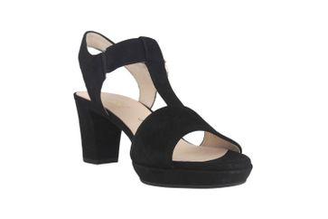 Gabor Comfort Fashion Sandaletten in Übergrößen Schwarz 22.394.47 große Damenschuhe – Bild 5