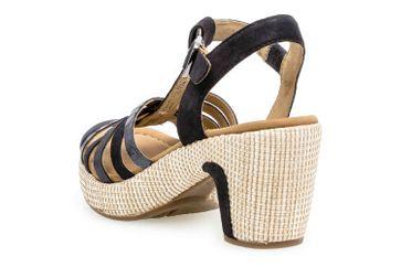 Gabor Comfort Sport Sandaletten in Übergrößen Blau 22.736.46 große Damenschuhe – Bild 2