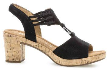 Gabor Comfort Sport Sandaletten in Übergrößen Schwarz 22.775.47 große Damenschuhe – Bild 4