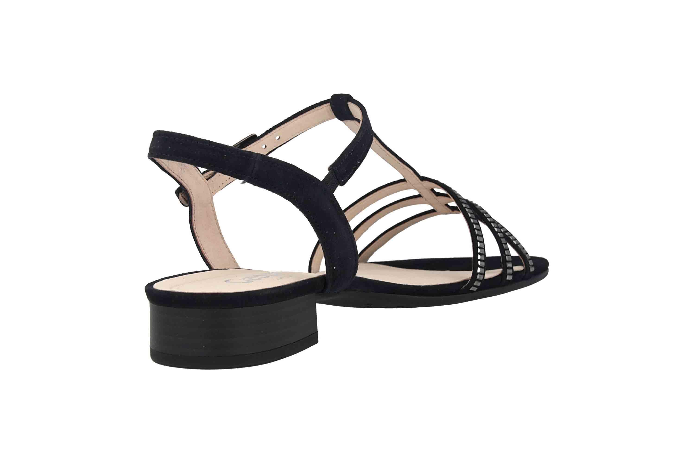 Gabor Comfort Sport Sandaletten in Übergrößen Blau 22.813.26 große Damenschuhe – Bild 3