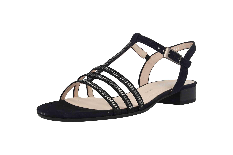 Gabor Comfort Sport Sandaletten in Übergrößen Blau 22.813.26 große Damenschuhe – Bild 6