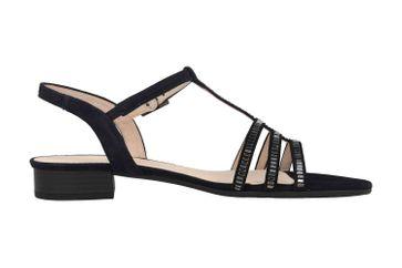 Gabor Comfort Sport Sandaletten in Übergrößen Blau 22.813.26 große Damenschuhe – Bild 4